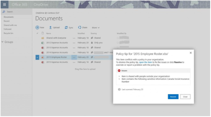 policy_tips_sharepoint