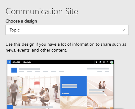 site-designs-listed-on-communication-site-template